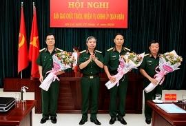 Điều động, bổ nhiệm lãnh đạo Bộ Quốc phòng, Viện KSND tối cao