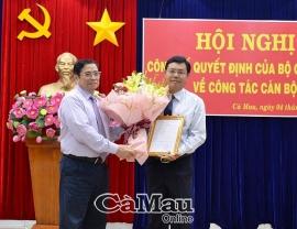 Bộ Chính trị phân công ông Nguyễn Tiến Hải giữ chức Bí thư Tỉnh uỷ Cà Mau