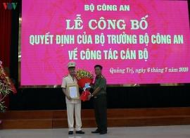 Trung tá 42 tuổi giữ chức Phó Giám đốc Công an tỉnh Quảng Trị