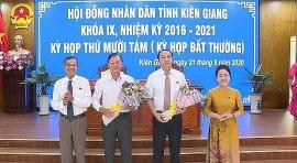 Phê chuẩn ông Lâm Minh Thành giữ chức Phó Chủ tịch tỉnh Kiên Giang