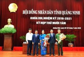 Nữ Giám đốc Sở 44 tuổi được bầu làm Phó Chủ tịch tỉnh Quảng Ninh