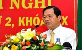 Bộ Chính trị cho ông Lê Viết Chữ thôi chức Bí thư Tỉnh uỷ Quảng Ngãi