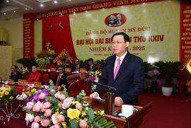 Bí thư Vương Đình Huệ muốn Đồng Tâm thành xã nông thôn mới vào năm 2021
