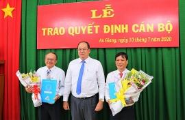 Bổ nhiệm nhân sự, lãnh đạo mới tại TP.HCM, Hải Phòng, An Giang