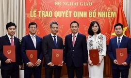 Bộ Ngoại giao bổ nhiệm nhiều nhân sự, lãnh đạo mới