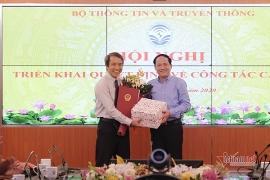Bổ nhiệm nhân sự, lãnh đạo mới Ban Tổ chức Trung ương, Bộ TT-TT