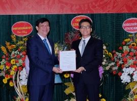 Ông Nguyễn Thanh Long chính thức nhận chức Quyền Bộ trưởng Bộ Y tế