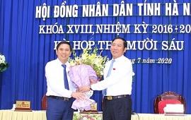 Chánh Văn phòng UBND tỉnh Hà Nam được bầu giữ chức Phó Chủ tịch tỉnh