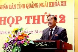 Quảng Ngãi: Ông Nguyễn Tăng Bính phụ trách, điều hành UBND tỉnh