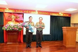 Giám đốc Công an tỉnh Thanh Hoá ra Trung ương