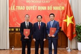 Bộ Thông tin và Truyền thông, Bộ Ngoại giao bổ nhiệm lãnh đạo mới