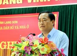 Ông Hồ Tiến Thiệu được bầu giữ chức Chủ tịch tỉnh Lạng Sơn