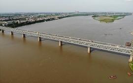 Cấm ô tô qua cầu Thăng Long từ 6/8 để phục vụ sửa chữa