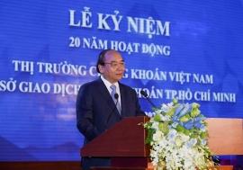 Thủ tướng Nguyễn Xuân Phúc: TTCK cần sớm nâng hạng là thị trường mới nổi