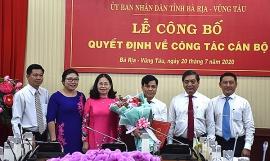 Bổ nhiệm nhân sự mới TP.HCM, Ninh Thuận, Bà Rịa - Vũng Tàu