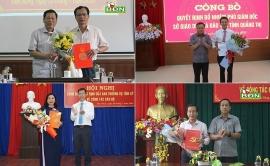 Đắk Nông, Quảng Trị, Tây Ninh bổ nhiệm nhân sự, lãnh đạo mới