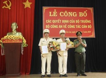 Gia Lai có 2 tân Phó Giám đốc Công an tỉnh