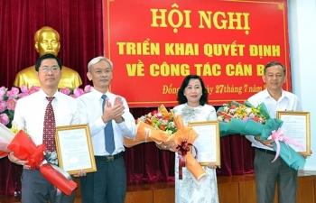 Quảng Ninh, Đà Nẵng, Đồng Nai bổ nhiệm nhân sự, lãnh đạo mới