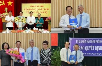 TP.HCM, Hà Tĩnh kiện toàn nhân sự, bổ nhiệm lãnh đạo mới