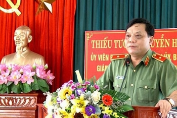Chân dung Thiếu tướng Nguyễn Hải Trung - tân Giám đốc Công an TP. Hà Nội