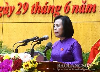 Lạng Sơn bầu tân Chủ tịch HĐND tỉnh