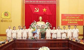 Ban Bí thư chuẩn y nhân sự Đảng ủy Công an Trung ương