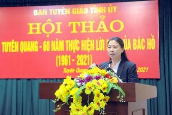 Bà Lê Thị Kim Dung giữ chức Chủ tịch HĐND tỉnh Tuyên Quang