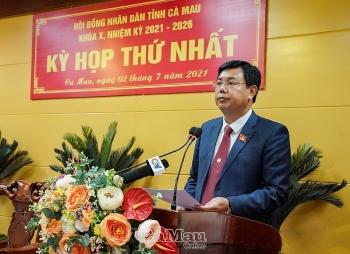 Ông Nguyễn Tiến Hải làm Chủ tịch HĐND tỉnh Cà Mau