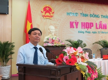 Ông Phan Văn Thắng tái đắc cử Chủ tịch HĐND tỉnh Đồng Tháp