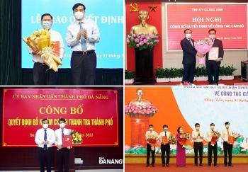 Loạt nhân sự lãnh đạo mới được bổ nhiệm tại TP.HCM, Đà Nẵng và Quảng Ninh