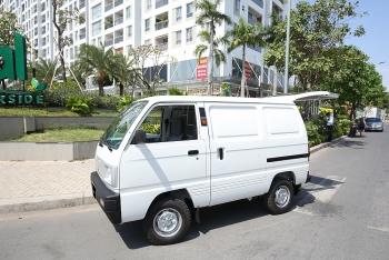Mua tải nhẹ chở hàng nội đô, không thể bỏ qua Suzuki Blind Van