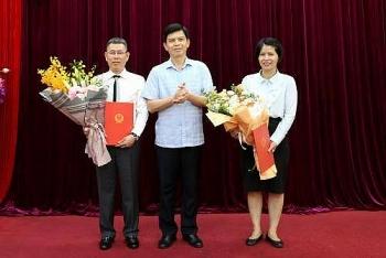 Bổ nhiệm lãnh đạo mới Bộ Tư pháp, Bộ Giao thông vận tải và VNPT
