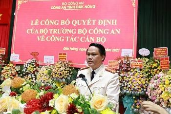 Đại tá Bùi Quang Thanh giữ chức Giám đốc Công an tỉnh Đắk Nông