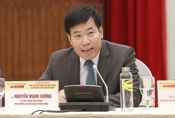 Phó trưởng Ban Đối ngoại TW Nguyễn Mạnh Cường làm Bí thư Tỉnh ủy Bình Phước