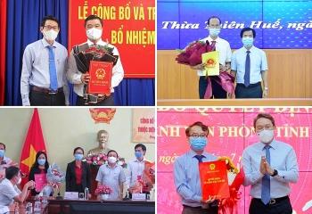 Bổ nhiệm nhân sự, lãnh đạo mới Thừa Thiên - Huế, Đồng Tháp, Khánh Hòa