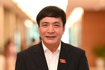 Ông Bùi Văn Cường tái đắc cử Tổng Thư ký Quốc hội