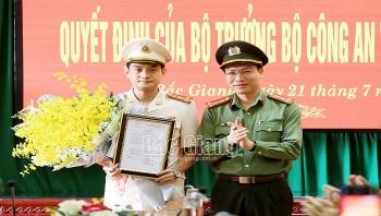 Công an tỉnh Bắc Giang có tân Phó Giám đốc