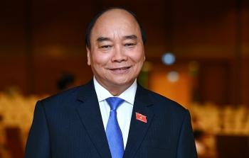 Quốc hội bầu ông Nguyễn Xuân Phúc tiếp tục giữ chức Chủ tịch nước