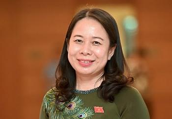 Bà Võ Thị Ánh Xuân tiếp tục được bầu làm Phó Chủ tịch nước