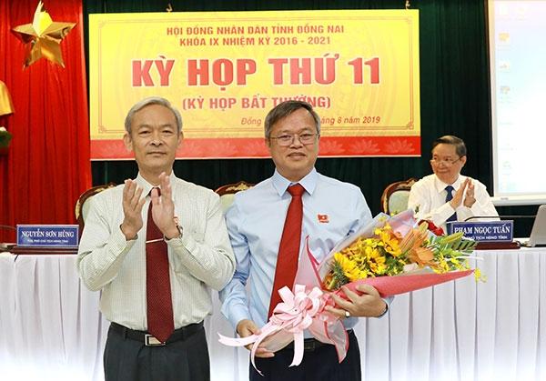 ong cao tien dung duoc bau lam chu tich tinh dong nai