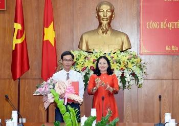 TP.HCM, Bà Rịa - Vũng Tàu, Yên Bái bổ nhiệm lãnh đạo mới
