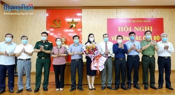 Tân Bí thư Tỉnh ủy Quảng Ngãi Bùi Thị Quỳnh Vân là ai?