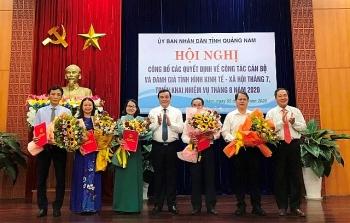 Thanh Hóa, Nghệ An, Quảng Nam bổ nhiệm lãnh đạo mới