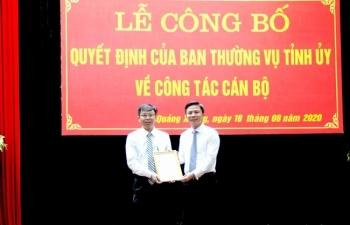 Tin bổ nhiệm nhân sự mới Thanh Hóa, Hà Tĩnh, Bình Định