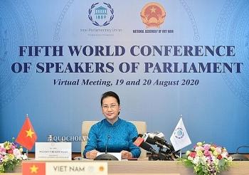 Chủ tịch Quốc hội: Việt Nam cam kết thúc đẩy hợp tác đa phương hiệu quả và bền vững