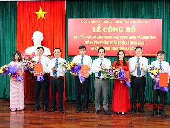 Hà Giang, Đồng Tháp, Đồng Nai bổ nhiệm nhân sự mới