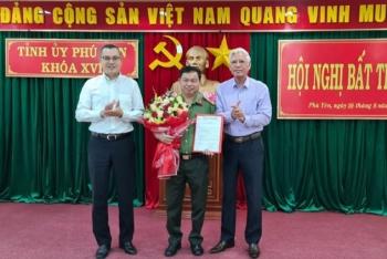 Ban Bí thư kiện toàn nhân sự Tỉnh ủy Phú Yên, Quảng Bình
