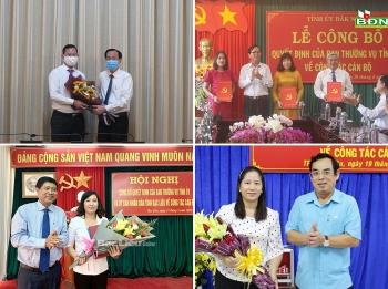 TP.HCM, Đắk Nông, Bạc Liêu bổ nhiệm nhân sự, lãnh đạo mới