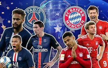 PSG vs Bayern Munich (02h00, 24/8): Link xem trực tiếp, online nhanh và rõ nét nhất