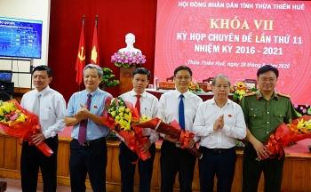 Ông Nguyễn Thanh Bình được bầu làm Phó Chủ tịch tỉnh Thừa Thiên - Huế
